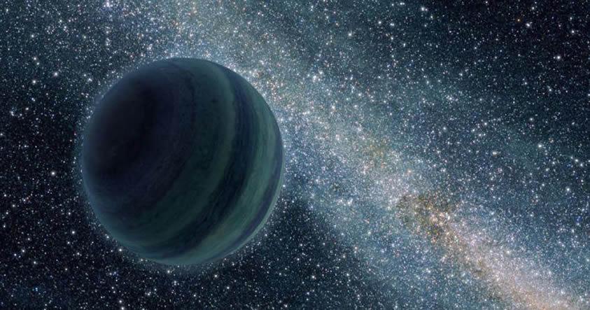 «Planeta X» podría ser de color azul y tener 20 veces el tamaño de la Tierra