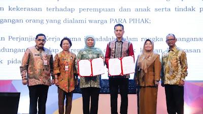 Khofifah Minta Korban dan Pelaku Bullying di Kota Malang Didampingi Psikolog