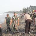 Penanganan Tumpahan Minyak Pertamina, Ratusan Personil TNI Polri Diterjunkan