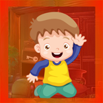 Play Games4King Cute Boy Rescue From Banana Lock Door