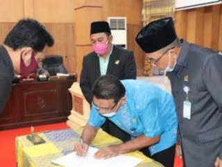 Pembahasan KUA- PPAS P APBD 2020, FPKS dan PPP DPRD Batubara Setujui Dengan  Catatan