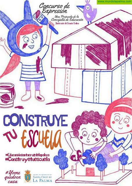 La Concejalía de Educación crea el concurso de expresión 'Construye tu propia escuela'