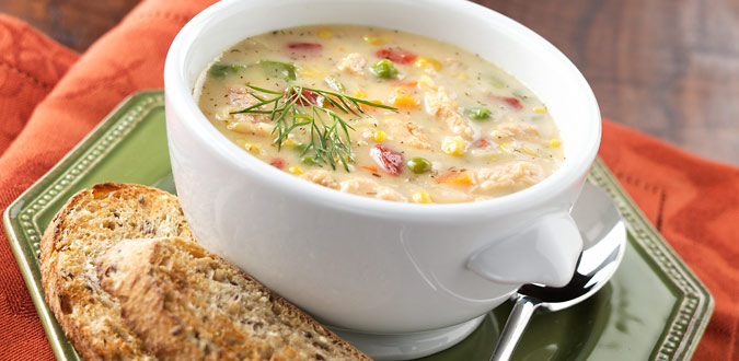 cooking the recipe: Easy Salmon Chowder