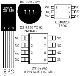 Forums / PIC Microcontroller Discussion / DS18B20 with