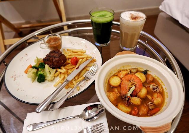 Menu Dinner di Ibis Styles Jakarta Sunter