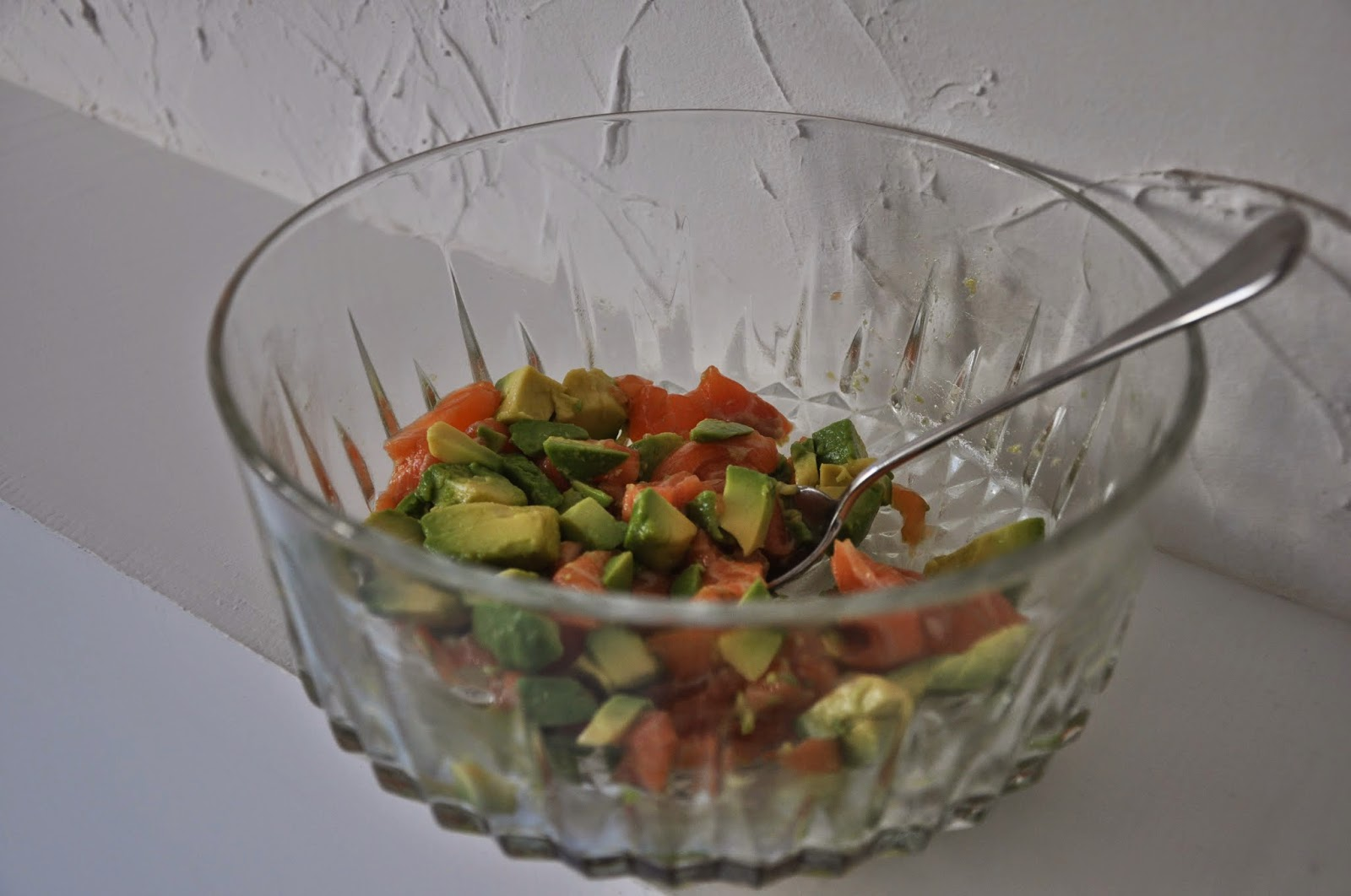 salade de saumon avocat