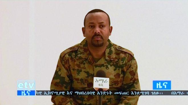 Ethiopia army chief shot dead in Ethiopia attacks