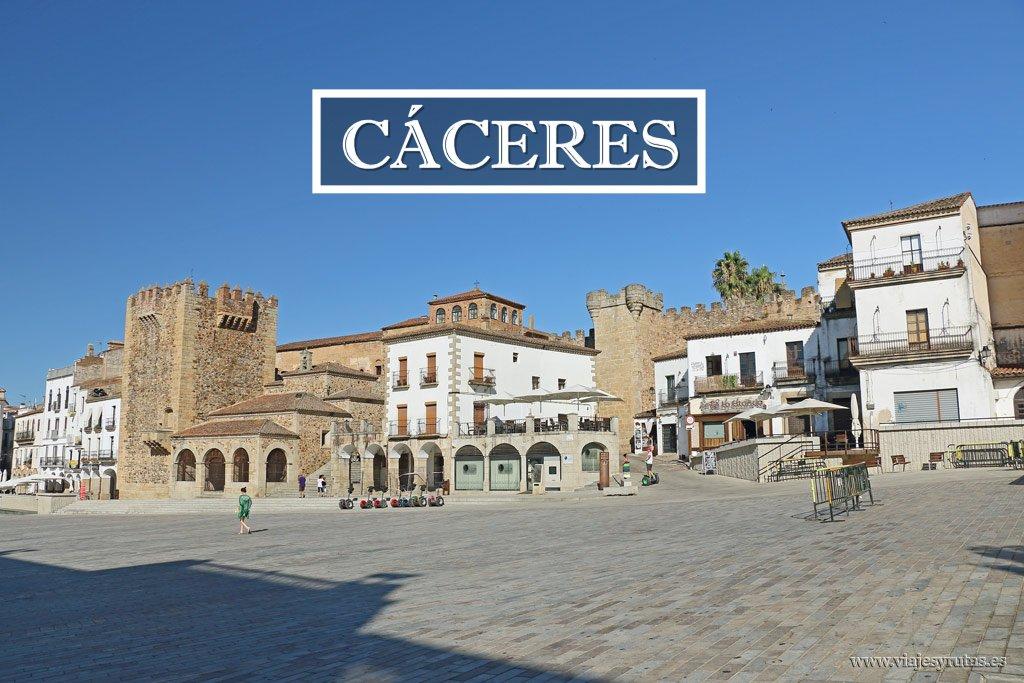 De plaza en plaza por Cáceres