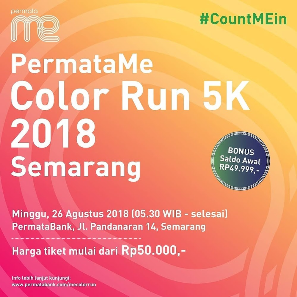 Permata ME Color Run • 2018