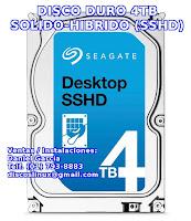 Disco Duro 4TB para PS4, venta instalacion Lima, Peru