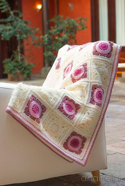 Crochet baby blanket 2, Anabelia