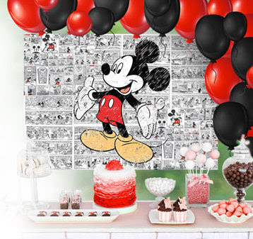 Mickey Mouse: Free Printable Party Photo Call.