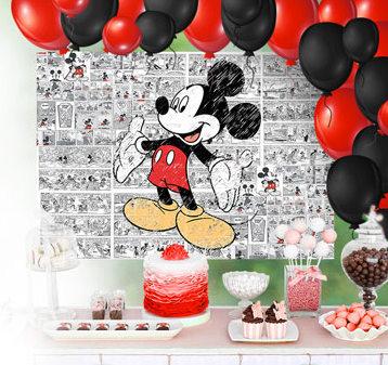 Mickey Mouse: Póster para Photo Call para Descargar Gratis.