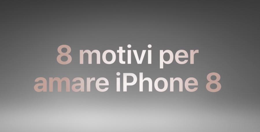 Canzone Apple Pubblicità iPhone 8 (Ragioni per amare i nuovi iPhone 8 e 8 Plus)