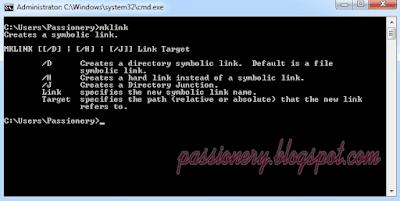 Hướng dẫn sử dụng lệnh mklink