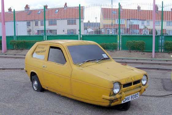 Reliant Regal Supervan in Great Yarmouth