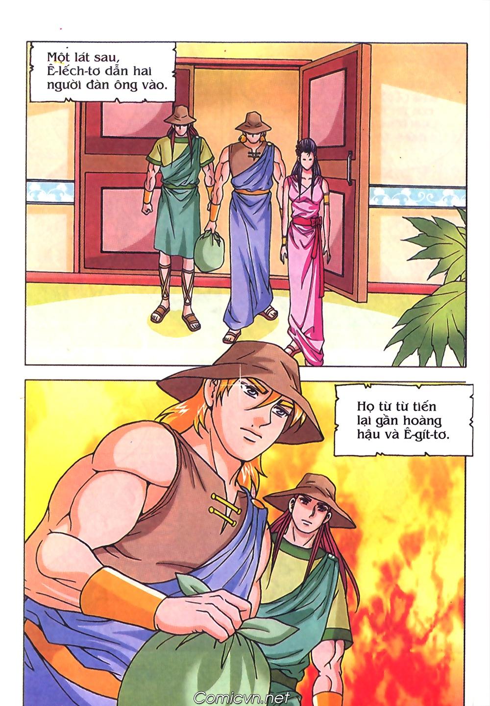 Thần Thoại Hy Lạp Màu - Chapter 71: Nàng Ê lếch tơ 2 - Pic 11