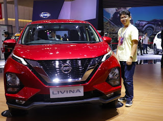 All New Nissan Livina pada GIIAS 2019