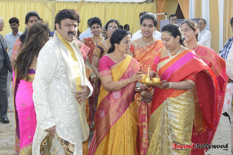 Tollypicz Nbk Daughter Tejaswini Wedding Photos Set 2