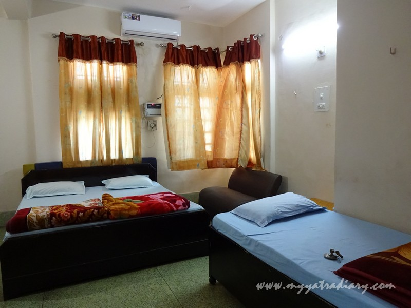 ISKCON Vrindavan Guest House Family Room - budget friendly.