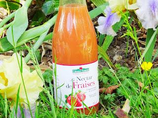 Nectar de fraises bio - Côteaux Nantais
