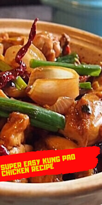 super easy kung pao chicken recipe