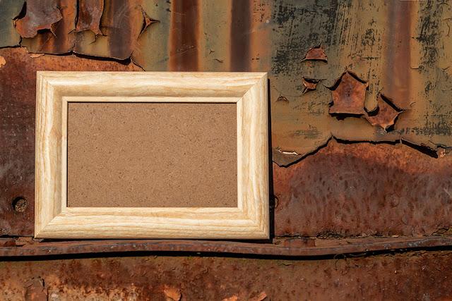 Empty Wooden Frames 5
