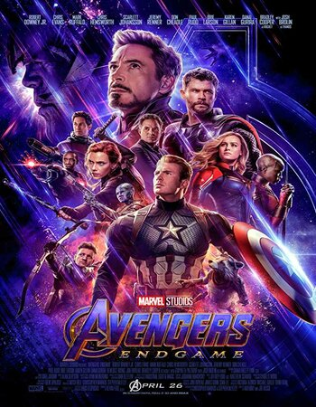 Avengers Endgame (2019) Dual Audio Hindi NEW 480p HDTC 550MB