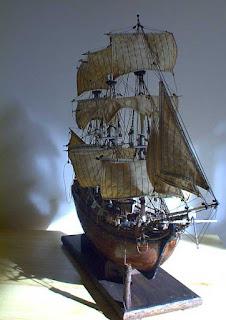 HMS Bounty, restaurato da Pietro Cristini