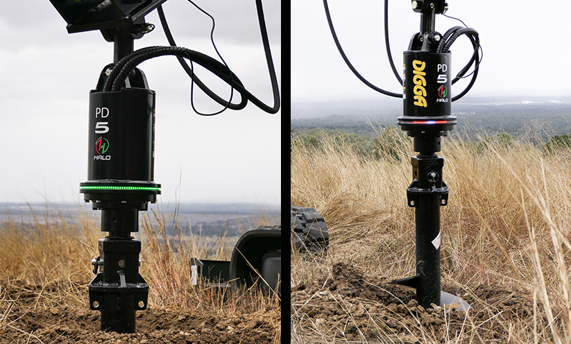 Digga Halo Auger Alignment System