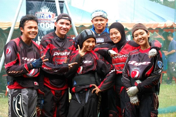 Ayue Jean Rindu Paintball