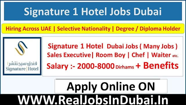 Signature 1 Hotel Tecom Hotel Jobs In Dubai - UAE 2021