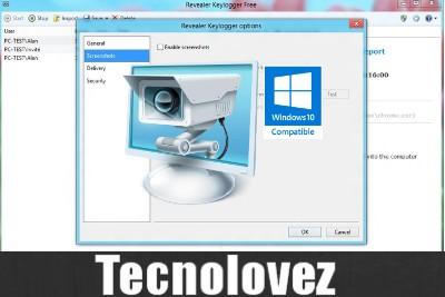 Revealer Keylogger Free - Keylogger gratuito che registra tutti i testi digitati