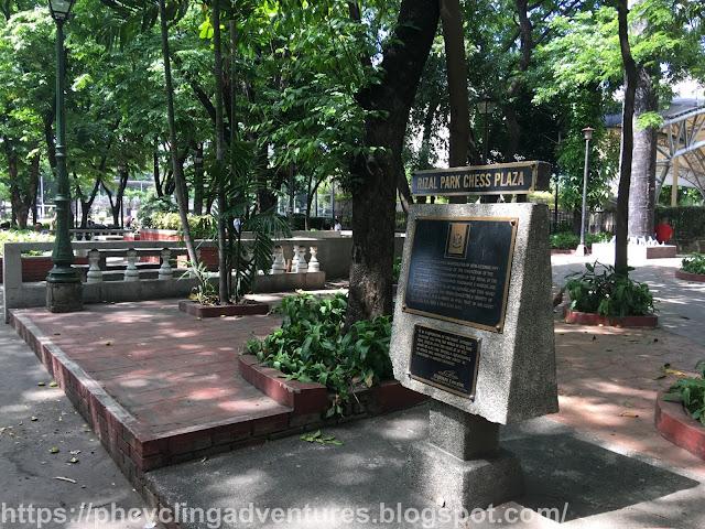 Rizal Park Chess Plaza
