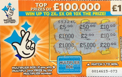 £1 Multiplier Scratchcard