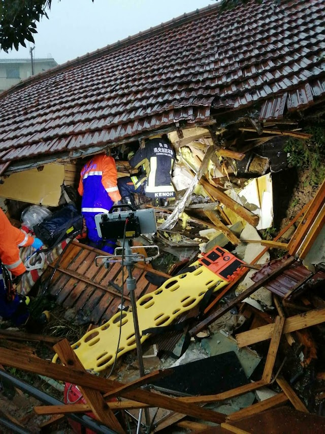 Heavy rain triggers floods, landslides in western Japan