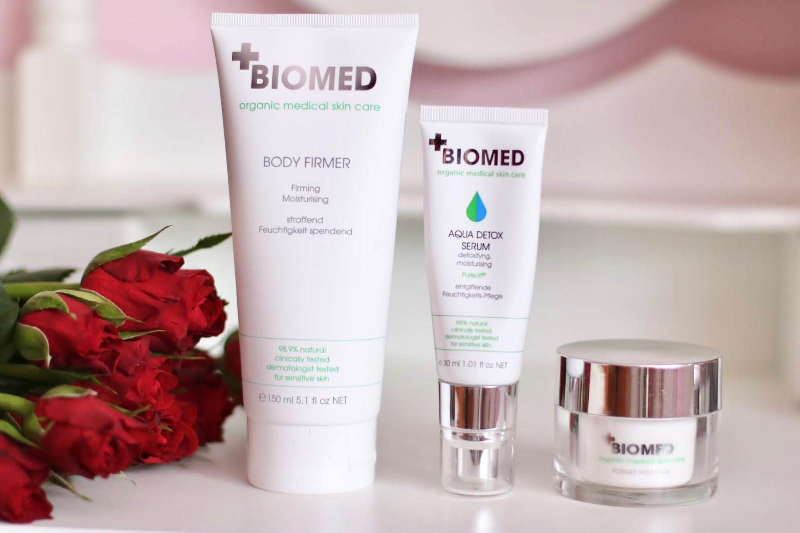 Biomed Organic Medical Skin Care Review - Krem przeciwzmarszczkowy, serum i balsam do ciała