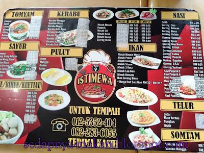 menu2 - Restoran Istimewa No.9