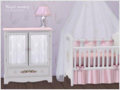 Детская для младенца — наборы мебели и декора Sims 4 со ссылкой для скачивания