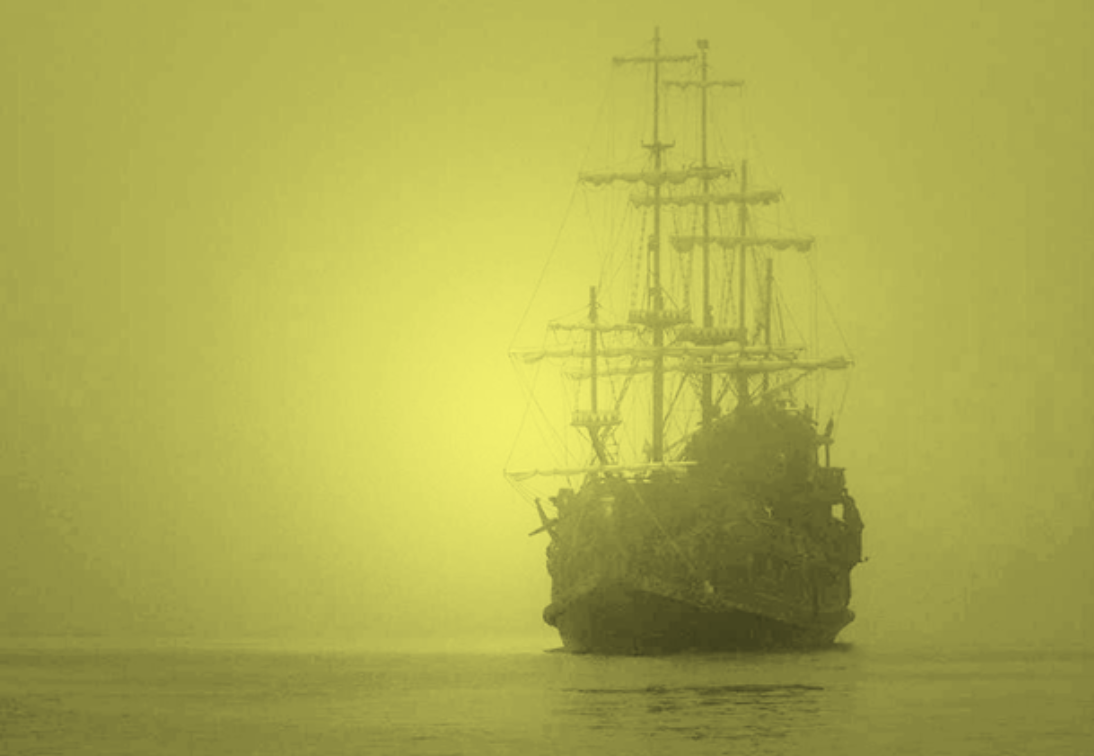golden ghost ship, Romblon triangle