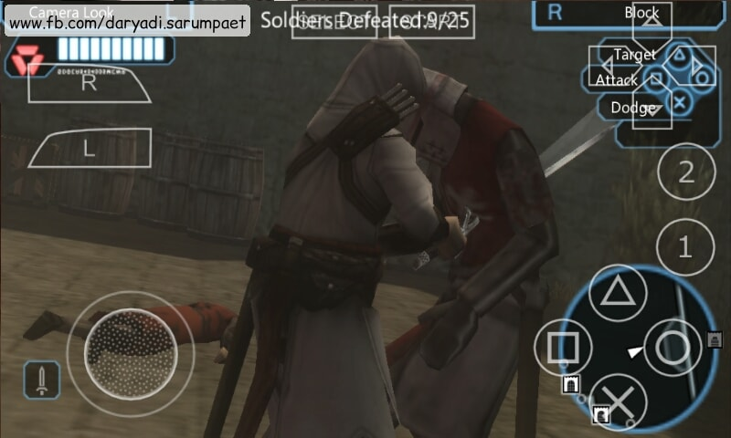 Assassin S Creed Bloodlines Psp Game On Emulator Indotechboy