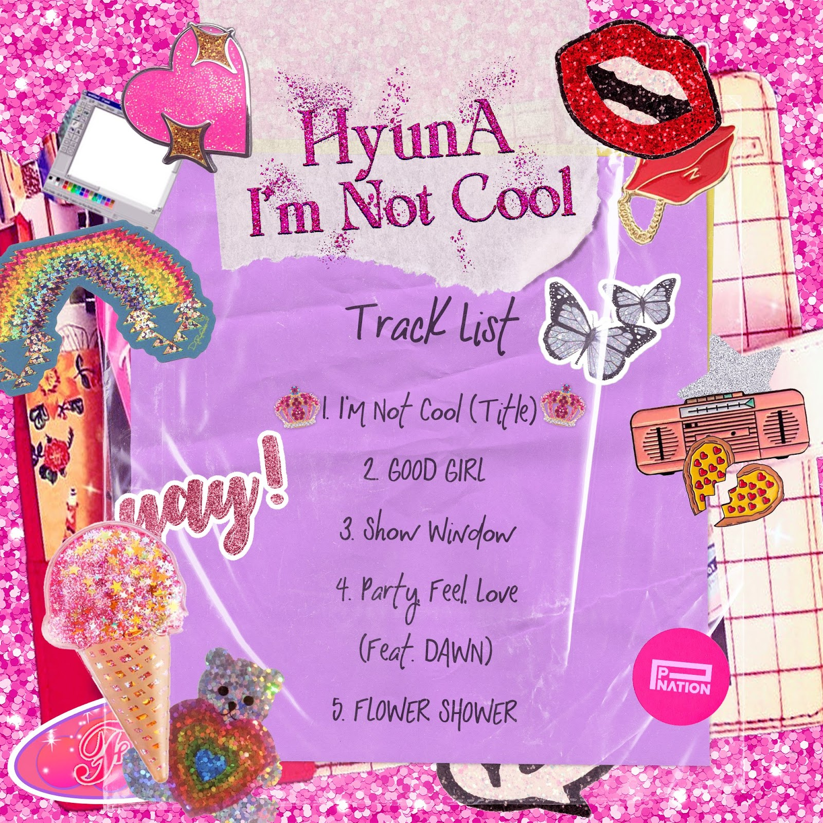 hyuna im not cool tracklist comeback