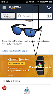 quiz time answer apple smart watch