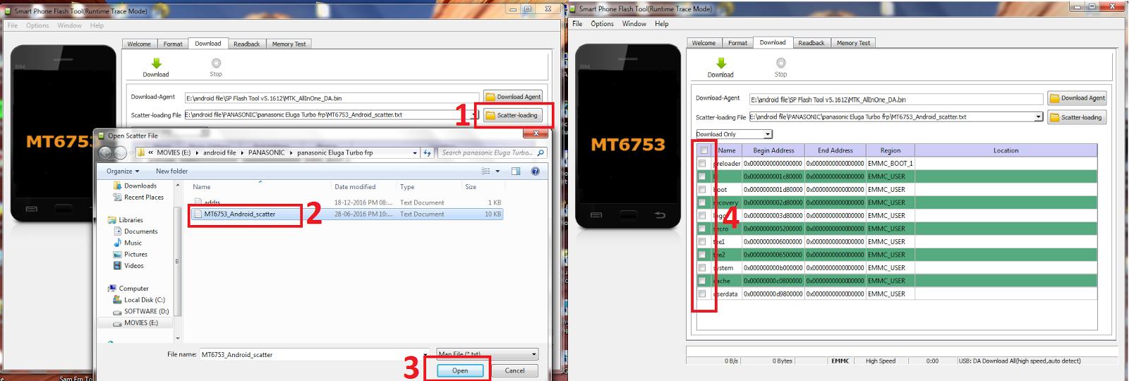Panasonic Eluga Turbo Frp Unlock tested solution - MOBILE