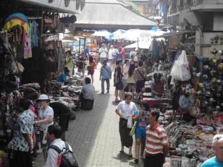 Art Market - Ubud, Art market