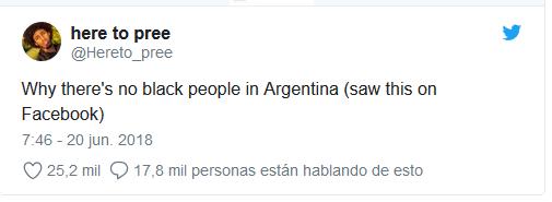 Selección Argentina Hay Que Matar A Los Negros