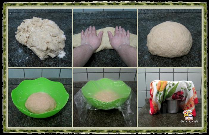 Pão doce de nozes 5