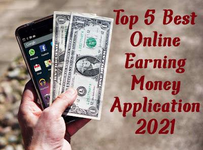 Best 5 Ways To Earn Money Online Application in 2021 । Hindi।