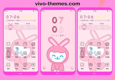Pink Net Worth Theme For Vivo Android Smartphone