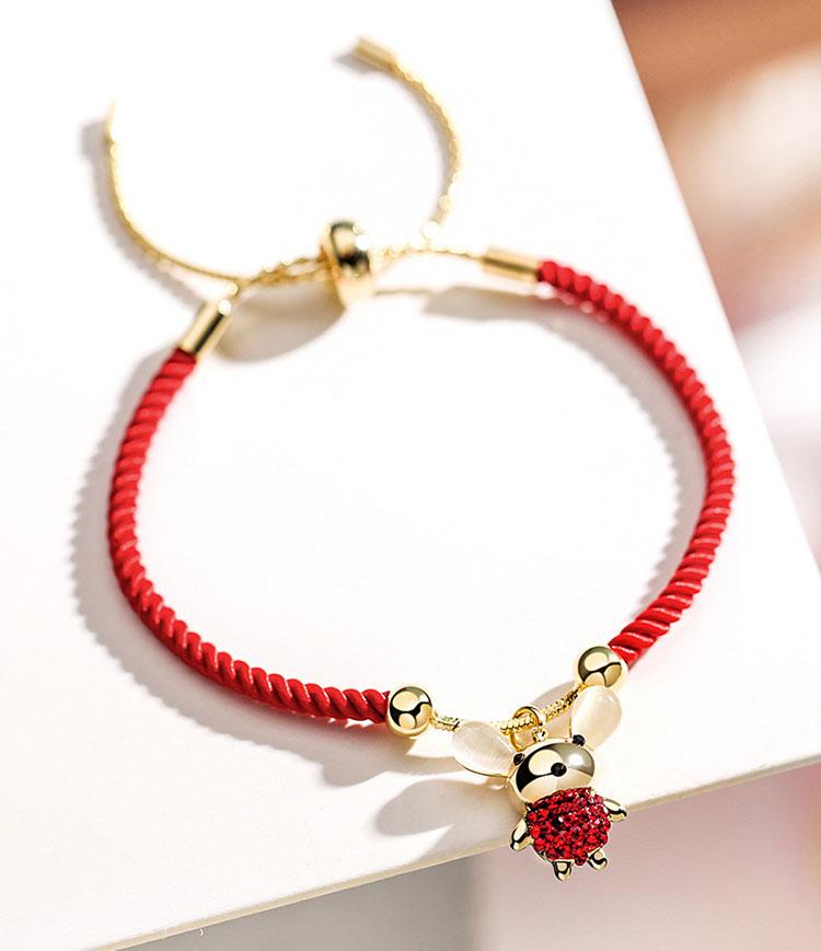 【手鍊】鴻運鼠年紅繩手鍊